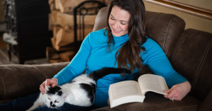 Read more about the article Come rest with my cat and me!